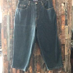 🌸 Gently Loved Halston Capri Jeans
